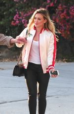 HILARY DUFF at a Studio Session for Fans in Hollywood 06/11/2015