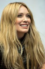 HILARY DUFF at Breathe In, Breathe Out CD Signing Event in New York