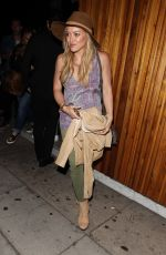 HILARY DUFF Leaves Nice Guy in West Hollywood 06/05/2015