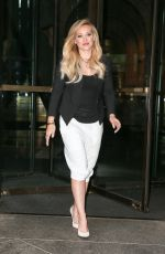 HILARY DUFF Leaves Sony Office in New York 06/16/2015