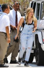 HILARY DUFF Out and About in Beverly Hills 06/05/2015