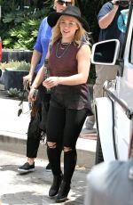 HILARY DUFF Out and About in West Hollywood 06/01/2015