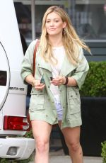 HILARY DUFF Out and About in West Hollywood 06/27/2015