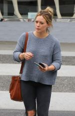 HILARY DUFF Out for Lunch in Beverly Hills 06/13/2015