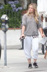 HILARY DUFF Out in Studio City 06/04/2015