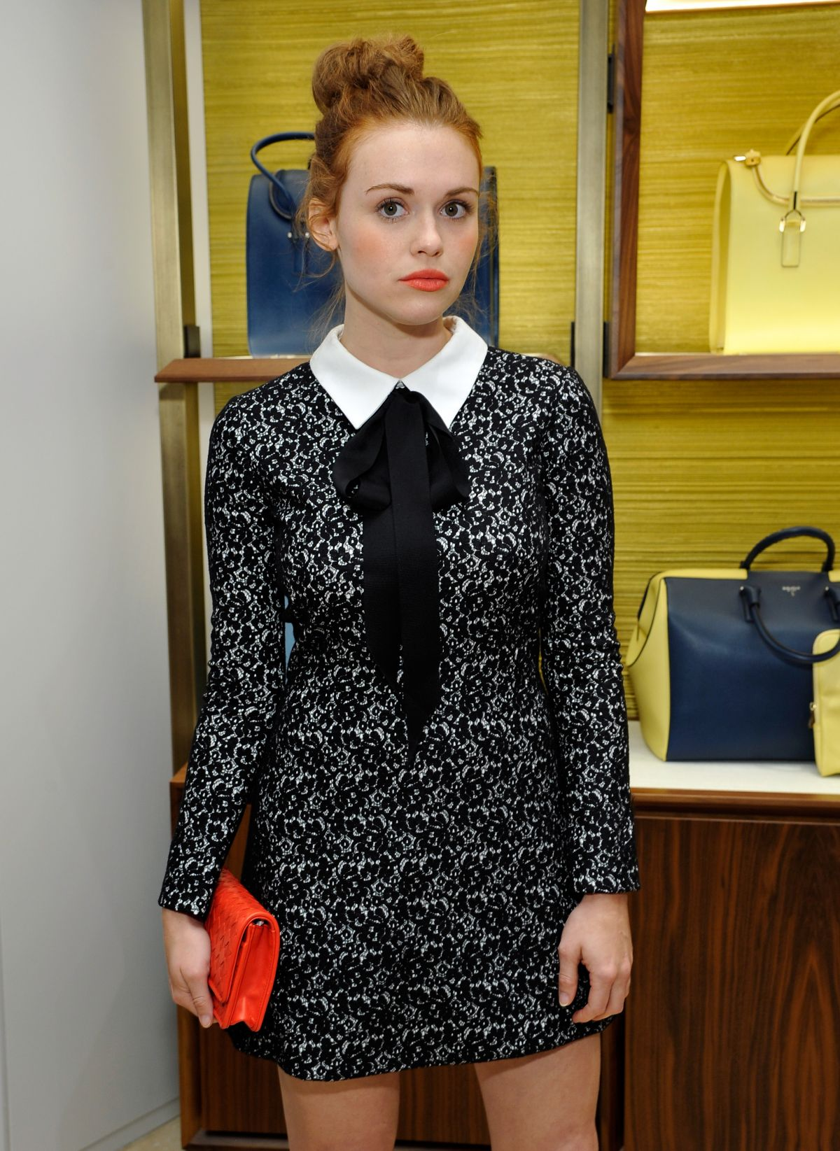 HOLLAND RODEN at Serapian Milano US Retail Store Opening in Beverly Hills