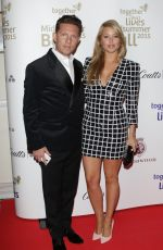 HOLLY VALANCE at Together for Short Lives Midsummer Ball in London