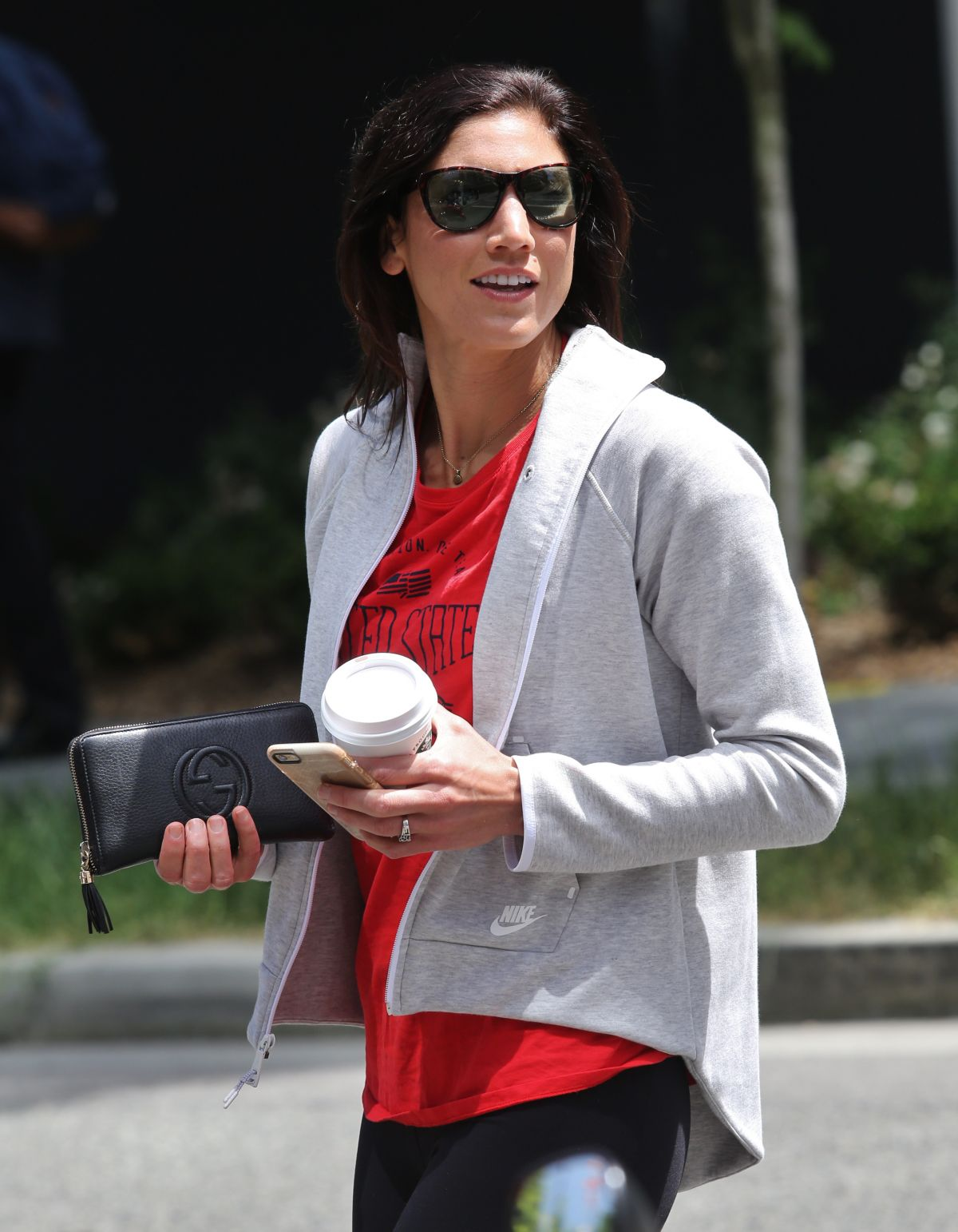 HOPE SOLO Out and About in Vancouver 06/17/2015