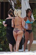 LADY GAGA in Bikini at a Beach in Bahamas 06/14/2015