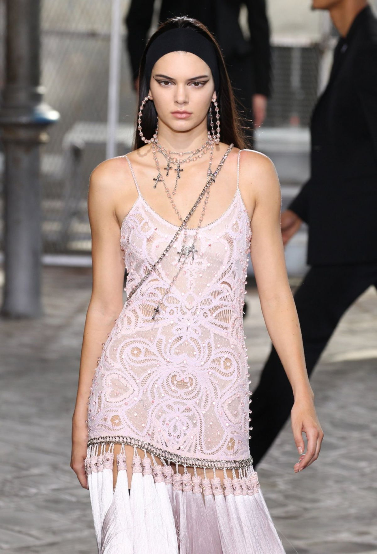 Fashion Through The Decades: KENDALL JENNER On The Runway Of Givenchy Fashion Show In
