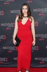 SOPHIE SIMMONS at Insidious Chapter 3 Premiere in Hollywood