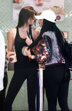 KYLIE and KENDALL JENNER in Tights Out and About in Beverly Hills 06/21/2015
