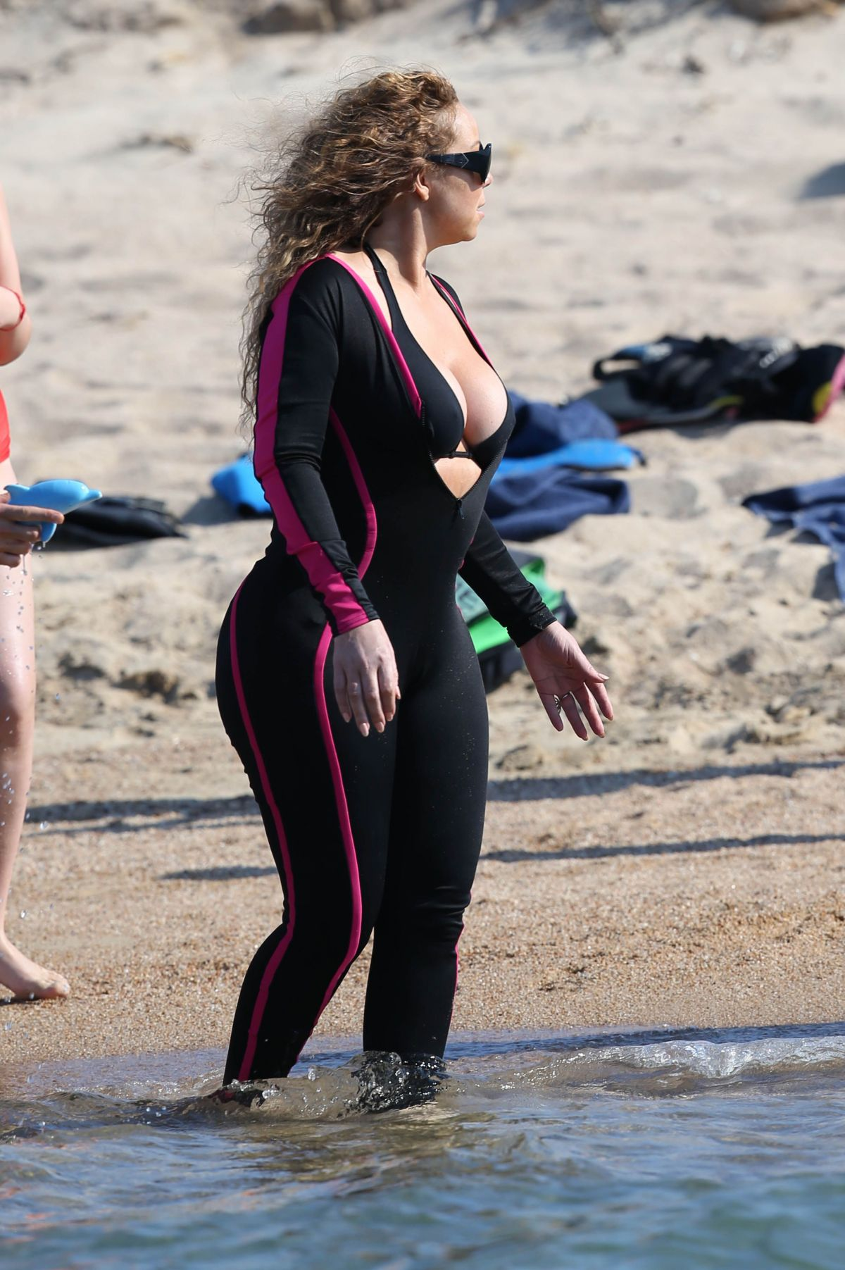 Mariah carey beach pictures