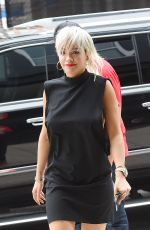 RITA ORA Out and About in New York 06/23/2015