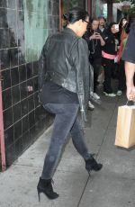 KIM KARDASHIAN Leaves Her Home in New York 06/01/2015