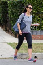 JORDANA BREWSTER Heading to a Gym in Los Angeles 06/04/2015