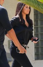 SELENA GOMEZ Out and About in Burbank 06/18/2015