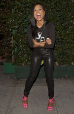 CHRISTINA MILIAN Arrives at Warwick Night Club in Hollywood 06/18/2015