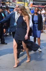 AMBER HEARD Arrives at Good Morning America in New York 06/22/2015