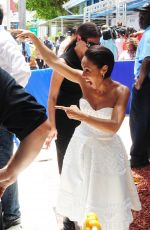 JADA PINKETT MSITH Honored with a Star on the Miami Walk of Fame