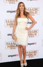 SOFIA VERGARA at Magic Mike XXL Premiere in Los Angeles