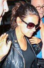 MILA KUNIS at Los Angeles International Airport 06/25/2015