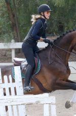 IGGY AZALEA at Horseback Riding in Calabasas 06/03/2015