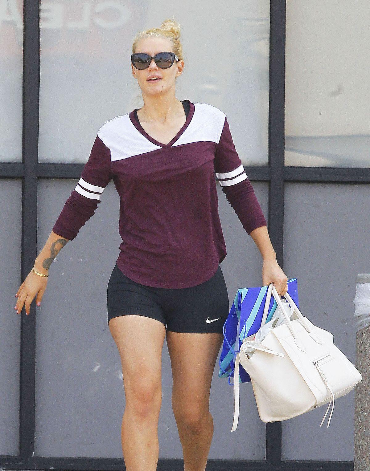 IGGY AZALEA Leaves CSV in Los Angeles 06/01/2015