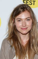 IMOGEN POOTS at Bamcinemafest 2015 The End of Tour in New York