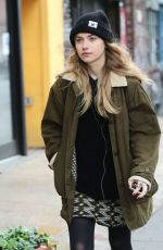 IMOGEN POOTS Out and About in New York 06/01/2015