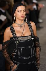 IRINA SHAYK on the Runway of Givenchy Fashion Show in Paris