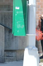 IRINA SHAYK Out and About in New York 06/22/2015