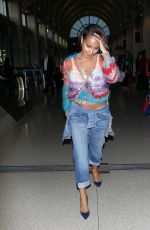 JADA PINKETT SMITH Arrives at LAX AIrport in Los Angeles 06/04/2015
