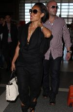 JADA PINKETT SMITH Arrives at LAX Airport in Los Angeles 06/26/2015