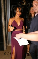 JADA PINKETT SMITH Leaves Claridge