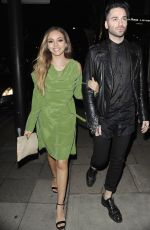 JADE THIRLEALL Night Out in London 05/31/2015