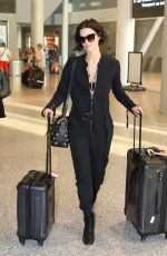 JAIMIE ALEXANDER at Pearson International Airport in Toronto 06/03/2015