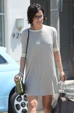 JAIMIE ALEXANDER Out and About in Beverly Hills 06/18/2015