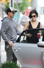 JAIMIE ALEXANDER Out and About in New York 06/23/2015