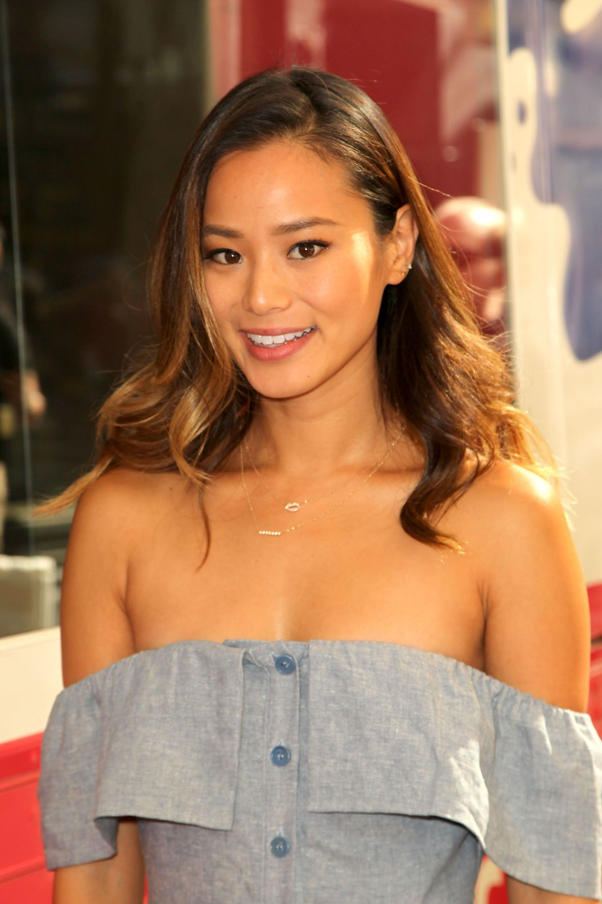 JAMIE CHUNG at Sally Beauty Mobile Nail Studio Tour in New York