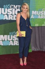 JAMIE LYNN SPEARS at 2015 CMT Music Awards in Nashville