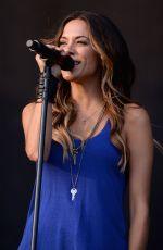 JANA KRAMER Performs at Big Barrel Country Music Festival 2015 in Dover