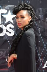 JANELLE MONAE at 2015 BET Awards in Los Angeles