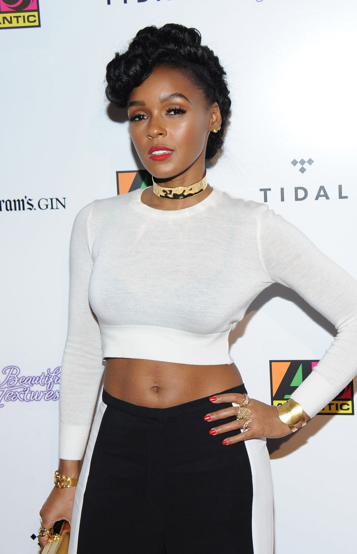 JANELLE MONAE at Atlantic Records BET Awards Afterparty in ...