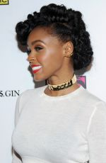 JANELLE MONAE at Atlantic Records BET Awards Afterparty in Los Angeles
