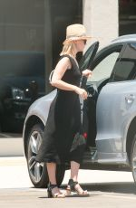 JANUARY JONES Arrives at Milk Studios in Los Angeles 06/19/2015