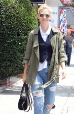 JANUARY JONES at a Post Office in Encino 06/11/2015