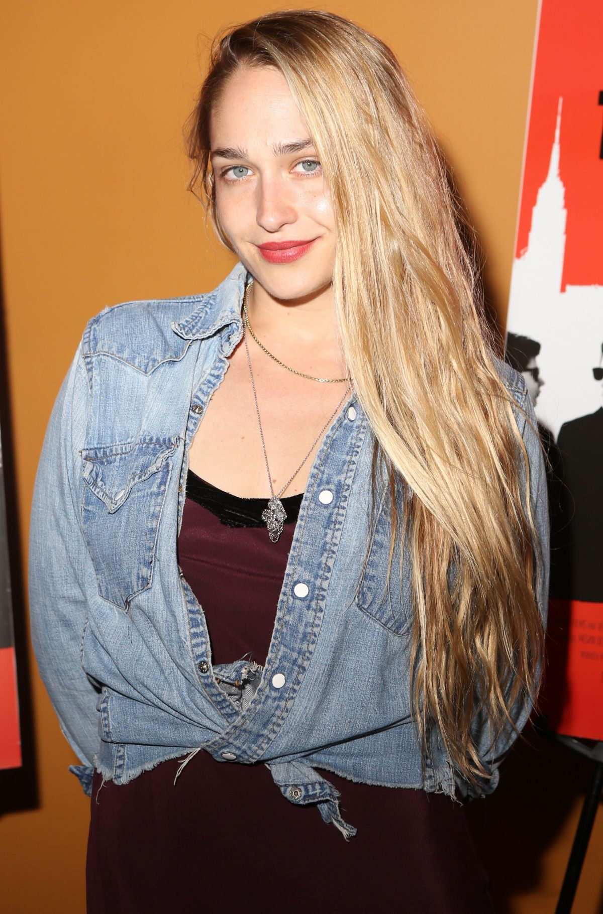 JEMIMA KIRKE at The Wolfpack Premiere in New York