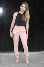 JENNETTE MCCURDY Arrives at Good Day New York 06/11/2015