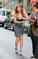 JENNETTE MCCURDY Arrives at Today Show in New York 06/10/2015